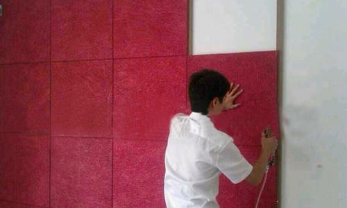 木丝吸音板安装方法