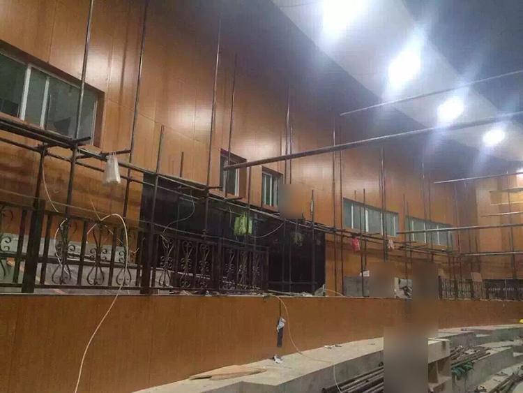 福建影剧院吸音板工程