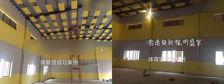 广州室内体育馆吸音板工程