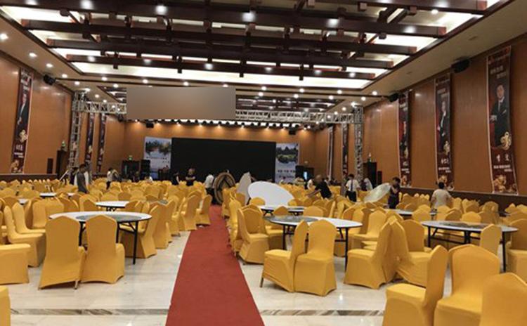 广西桂林国际酒店宴会厅吸音板工程
