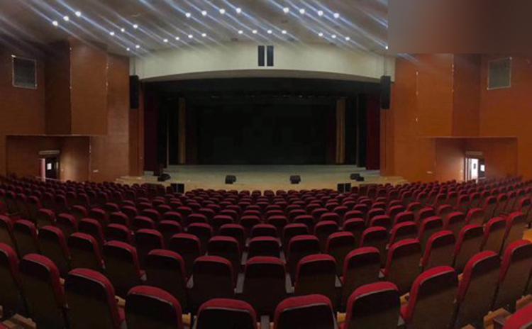 广西贺州文化中心吸音板工程