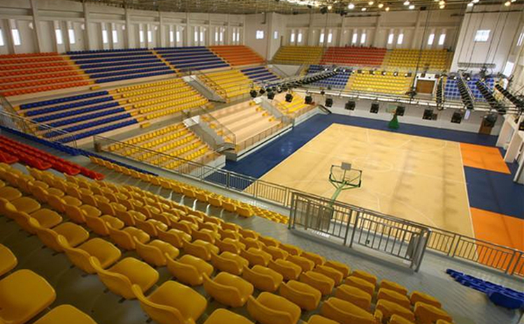云南红河州篮球馆吸音板工程