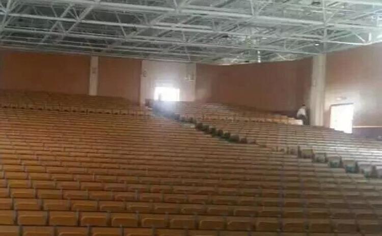 湖南娄底学校礼堂吸音板工程