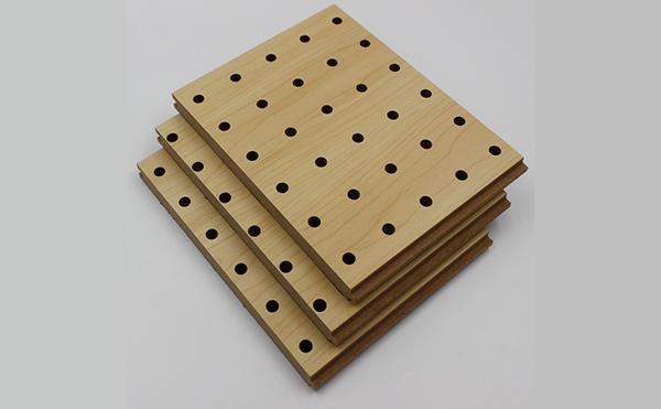槽木穿孔吸音板