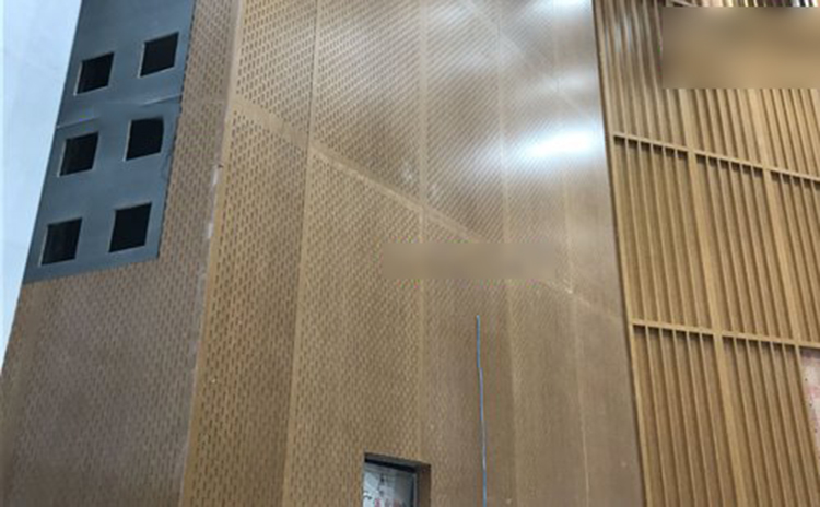 青海西宁会展中心吸音板工程