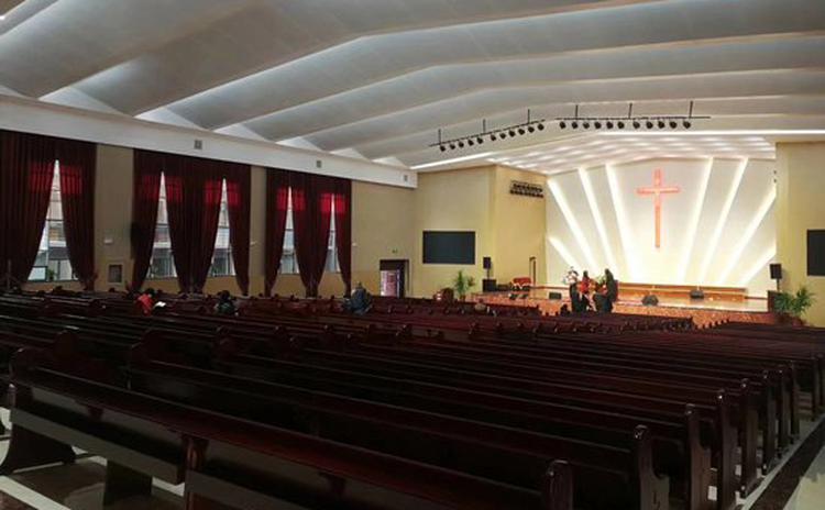 河北廊坊耶稣基督教堂声学工程