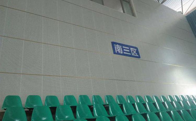 山东青岛医院会议室孔木吸音板工程