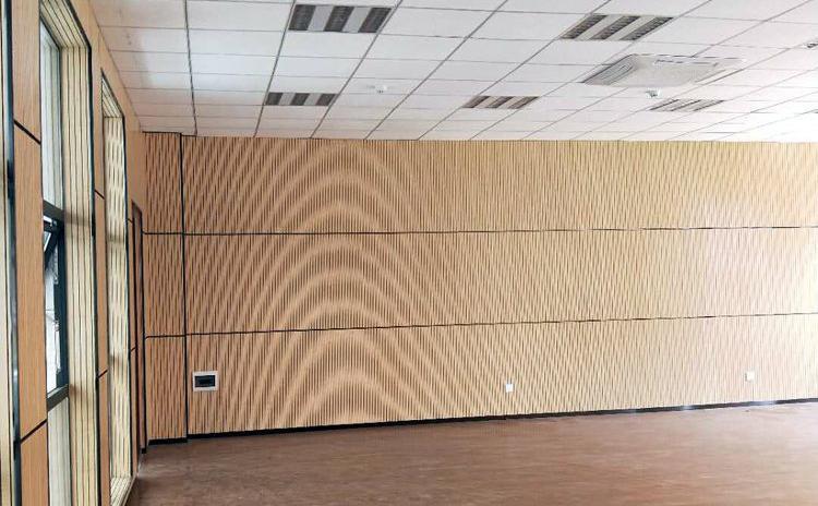 浙江温州学校教室槽木吸音板声学工程