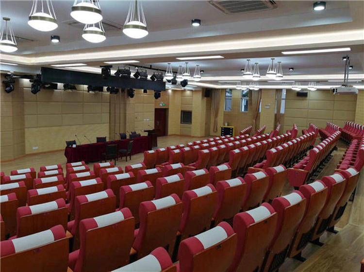 黑龙江大庆学校多功能报告厅软包吸音板声学工程