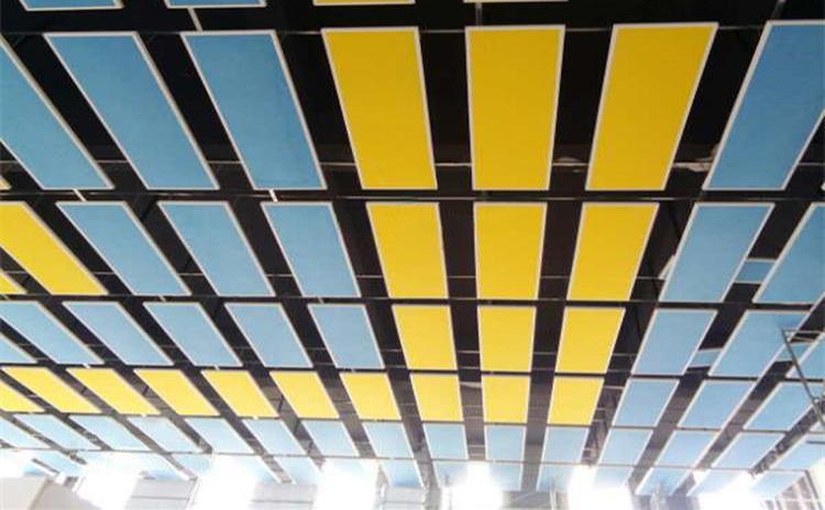 湖北宜昌小学体育馆空间吸声体声学工程