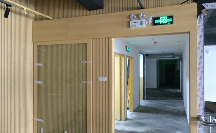 浙江湖州钢琴室槽木吸音板声学工程