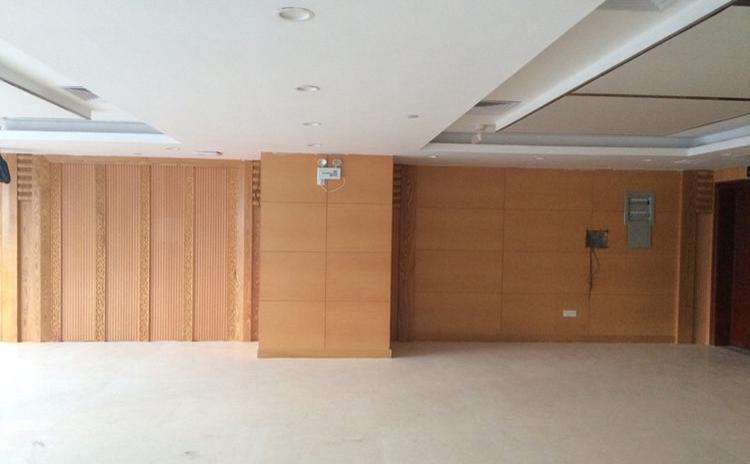 浙江金华会议室槽木吸音板声学工程