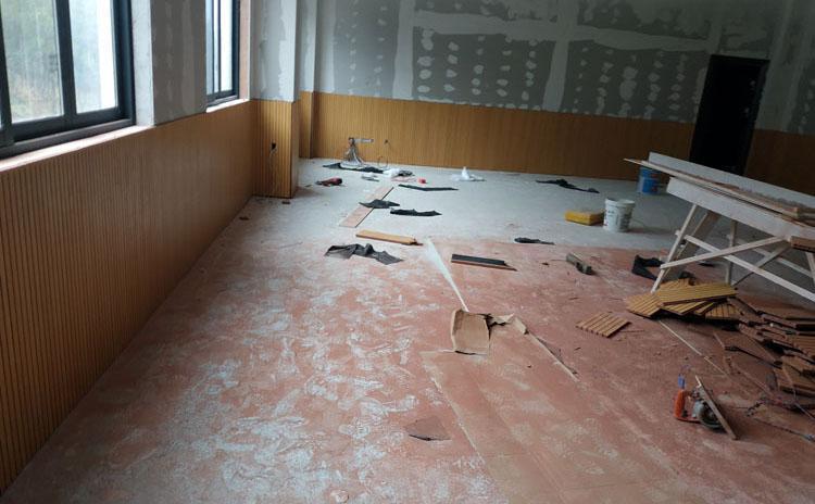 河北邯郸教室槽木吸音板声学工程