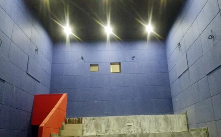 广东清远电影院防火聚酯纤维吸音板声学工程