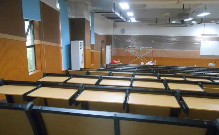 江西九江阶梯教室b1级阻燃吸音板声学工程