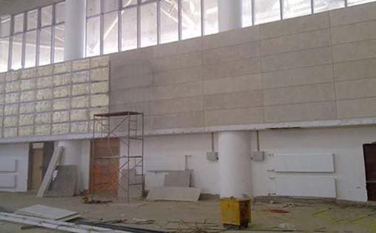 浙江台州体育馆木丝吸音板声学工程