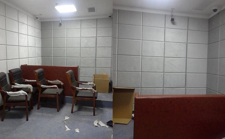 江苏盐城询问室防撞软包manbetx官网万博官网声学工程