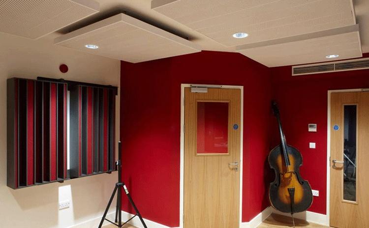 安徽黄山音乐室吸声体声学工程