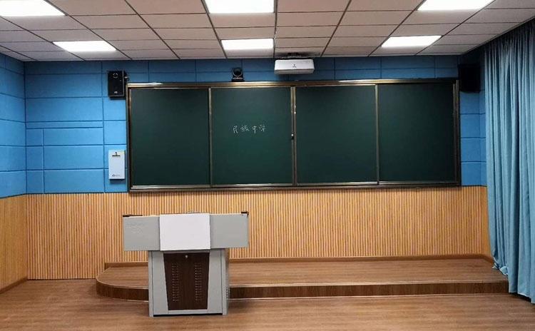 四川达州教室软包吸音板声学工程
