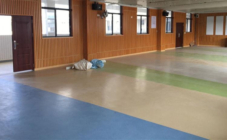 湖北黄石学校舞蹈室槽木吸音板声学工程