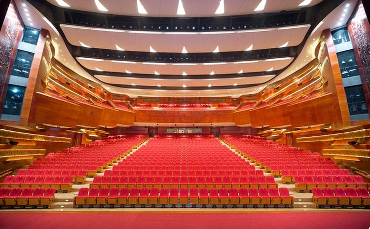 四川广安音乐厅防火吸音板声学工程