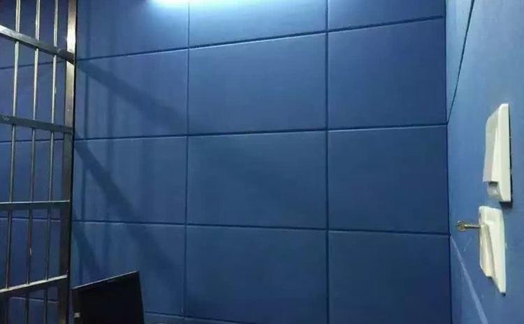 浙江衢州审讯室布艺软包吸音板声学工程-3