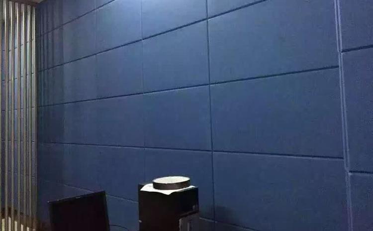 浙江衢州审讯室布艺软包吸音板声学工程-4