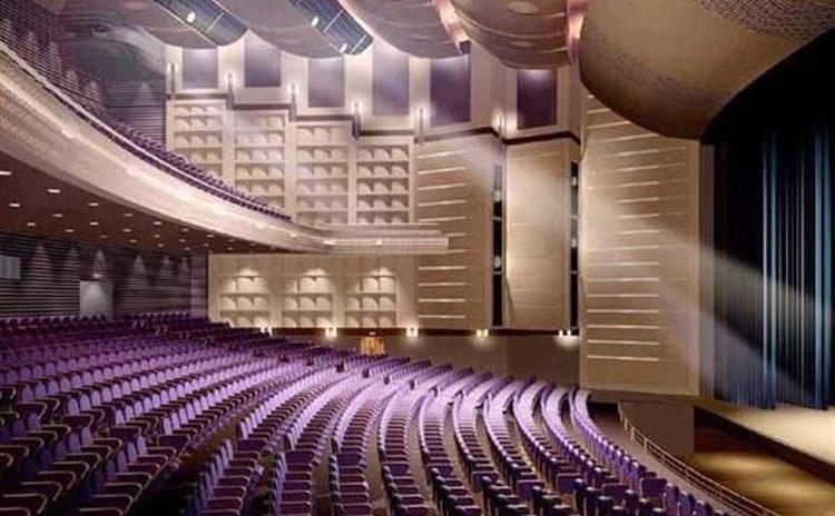 江西宜春大剧院木质吸声板声学工程
