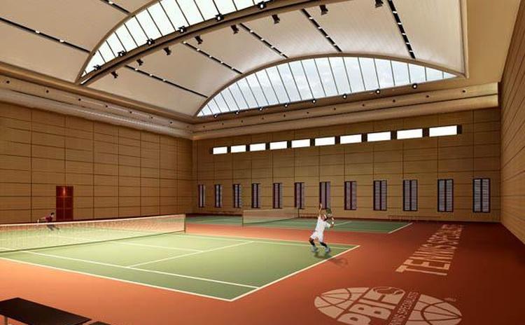 陕西安康网球馆软包吸音板声学工程