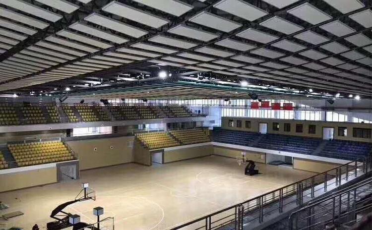 河南安阳篮球馆空间吸声体声学工程
