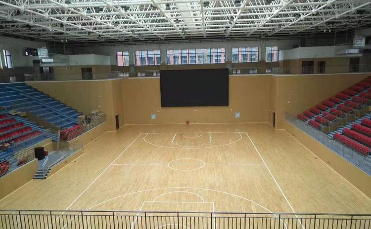安徽池州体育馆吸音板声学工程-2