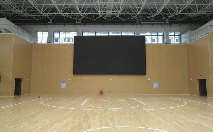 安徽池州体育馆吸音板声学工程-4