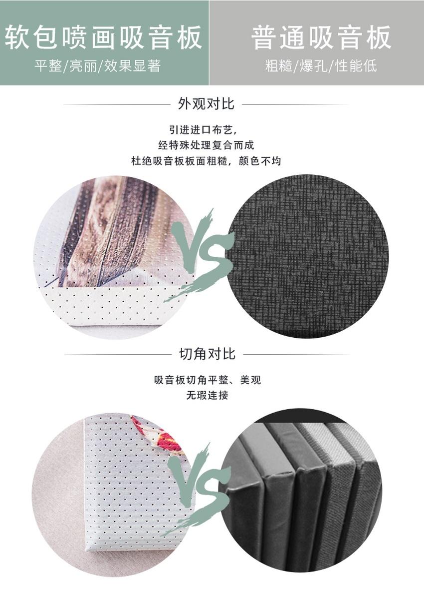 吸音画产品对比