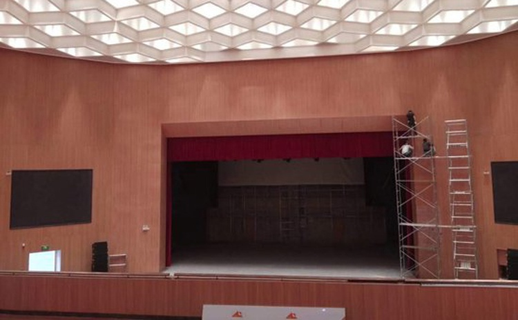 陕西榆林文化中心-2