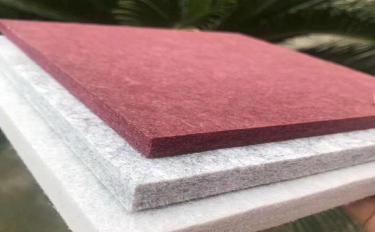 聚酯纤维吸音材料的特点