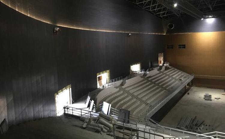 山东泰安体育馆