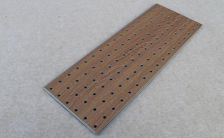 陶铝吸音板可用作声学装饰材料-1