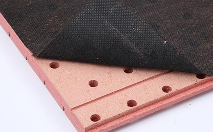 安装槽孔木质吸音板-1