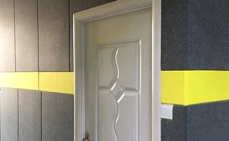 用聚酯纤维吸音板做吸音墙-1