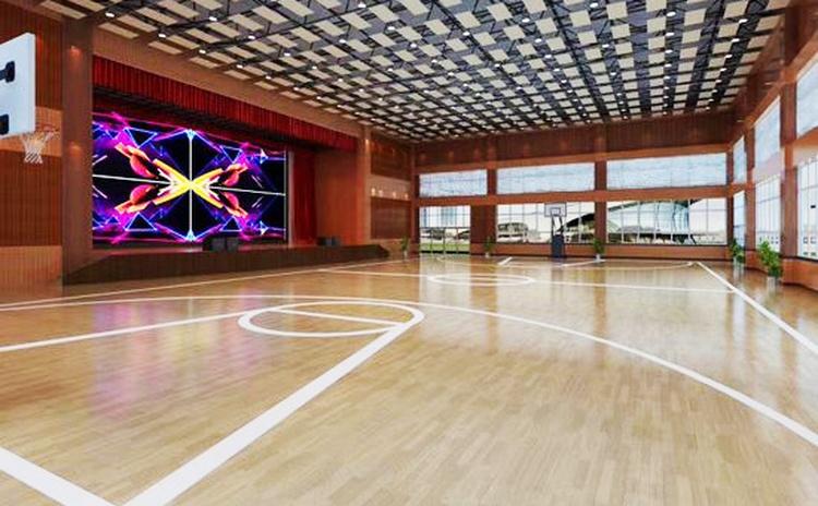 广西来宾体育馆室内篮球馆吸声板声学工程