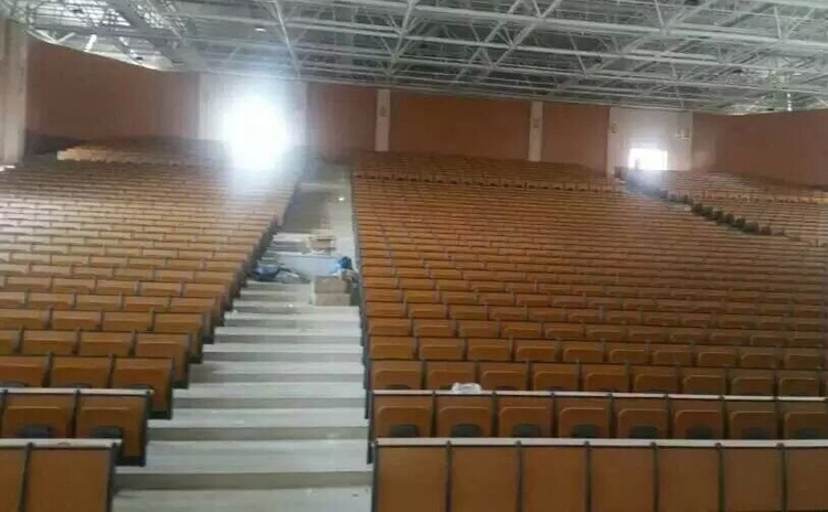 湖南湘西大礼堂报告厅a级玻镁吸音板声学工程-1