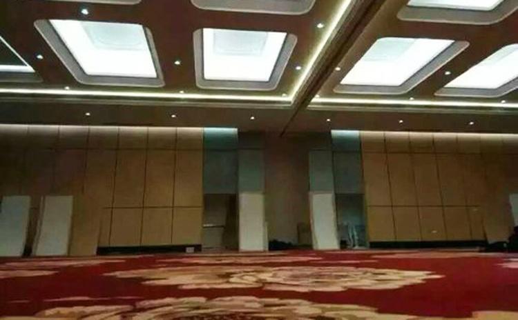 广东汕尾学术会议厅金属边框吸音软包声学工程