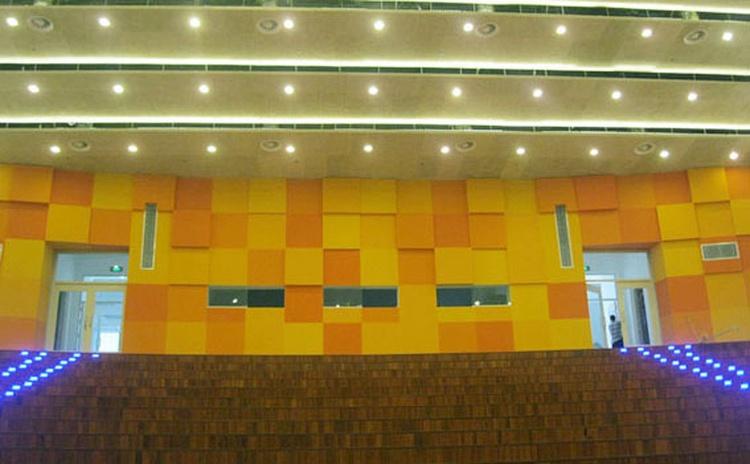 安徽亳州会议厅吸音板声学工程