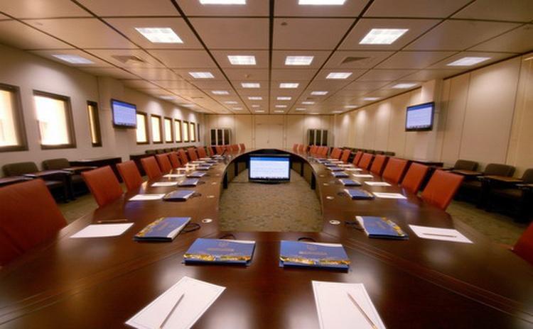 河北沧州办公室吸音板声学工程-1