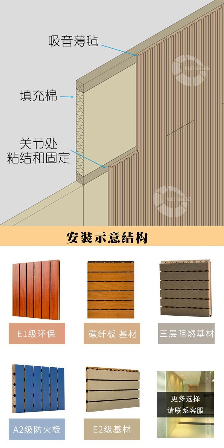 篮球馆槽木吸音板安装方式-5