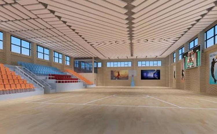 湖南张家界小型体育馆
