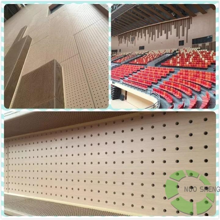 体育馆声学设计-穿孔吸音板