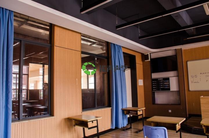 学校声学设计-槽木吸音板4