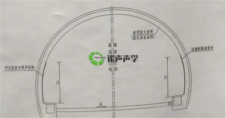 山西运城隧道平面图